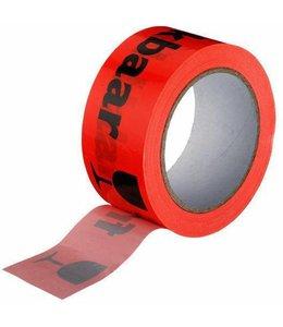 TD47 Products TD47 PVC Breekbaar / Fragile Tape 50mm x 66m Oranje