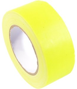 TD47 TD47 Gaffa Tape 50mm x 25m Fluor Geel
