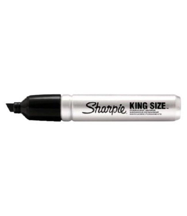 Sharpie Pro Italic 4-7mm Black (King Size)