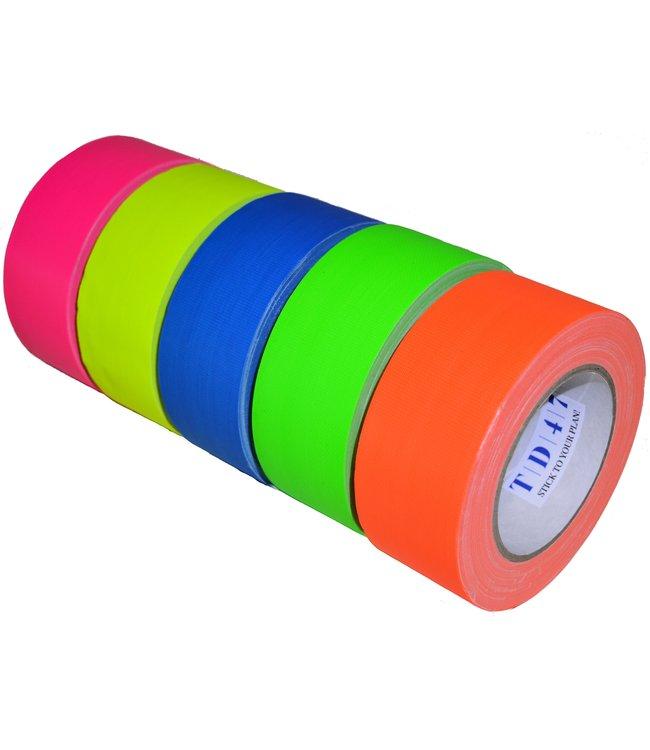 TD47 Gaffa Tape Fluoro Deal (Rollen 5)