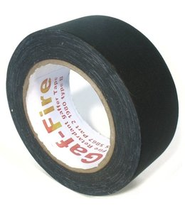 Gaf-Fire Gaf-Fire brandvertragende gaffa tape 48mm x 25m zwart