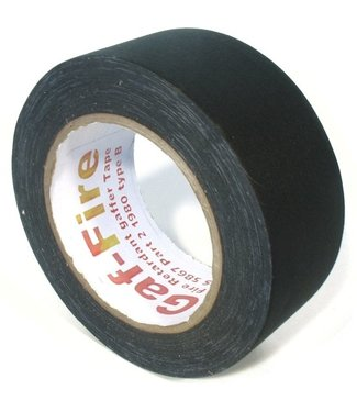 Gaf-Fire Gaf-Fire brandvertragende gaffa tape 48mm x 25m zwart