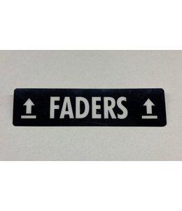 TD47 TD47 Flightcase Tour Label - FADERS