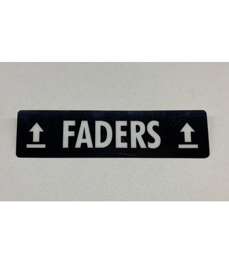 TD47 Products TD47 Flightcase Tour Label - FADERS