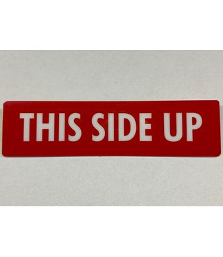 TD47 Products TD47 Flightcase Tour Label - THIS SIDE UP