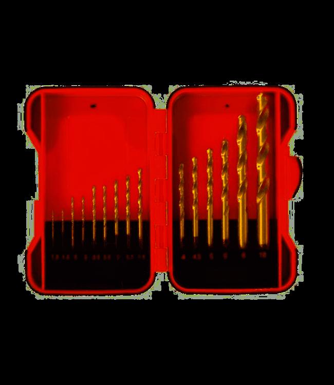 Borenset - HSS Metall - 15 Stück in Aufbewahrungsbox