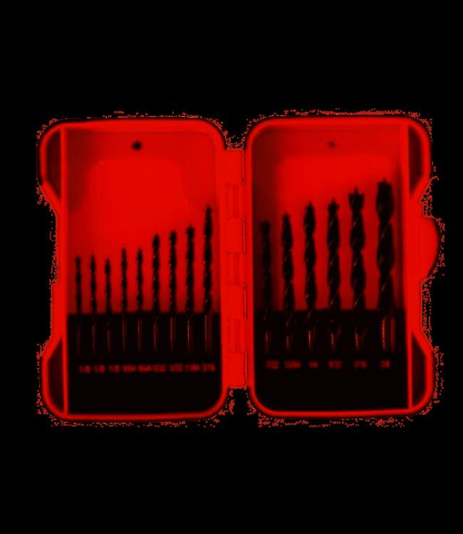 Borenset - Holz - 15 Stück in Aufbewahrungsbox