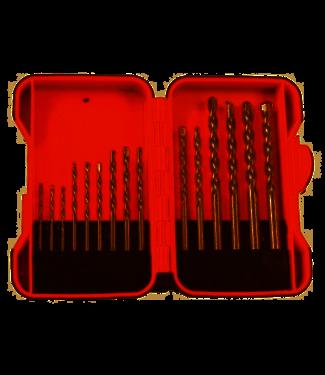 Toolland Ensemble ennuyeux - pierre / béton - 15 partie dans la boîte de rangement