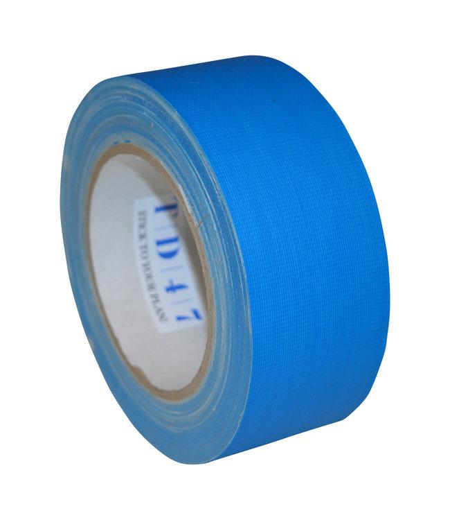 TD47 Gaffa Tape 50mm x 25m Fluor Blauw