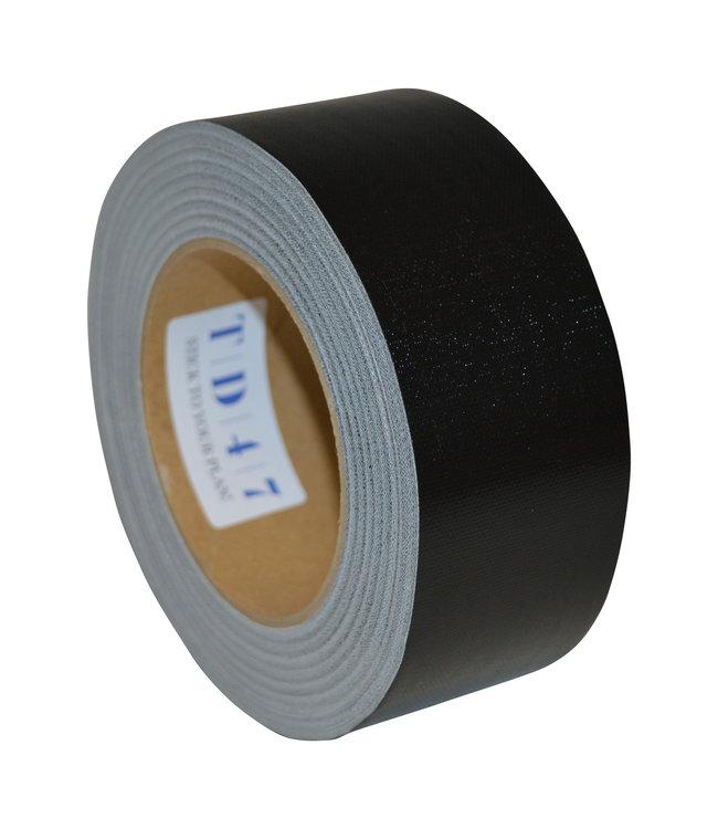TD47 Gaffa Tape 50mm x 50m Zwart