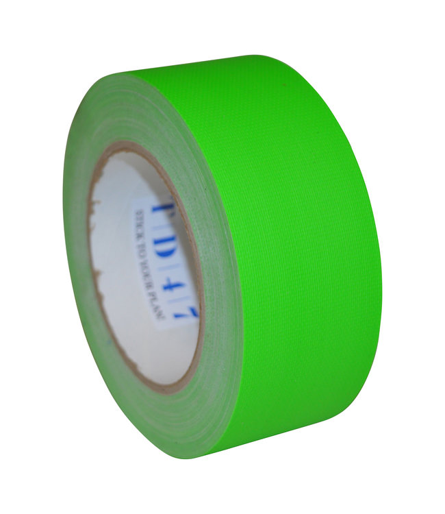 TD47 Gaffa Tape 50mm x 25m Fluor Groen