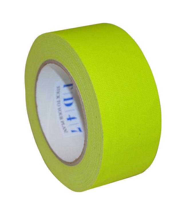 TD47 Gaffa Tape 50mm x 25m Neongelb