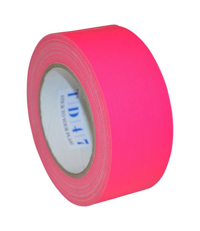 TD47 Gaffa Tape 50mm x 25m Fluor Rosa