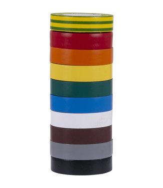3M 3M Klebeband Isolierung 19mm x 20m T1500 Rainbowmix (10 Stück)