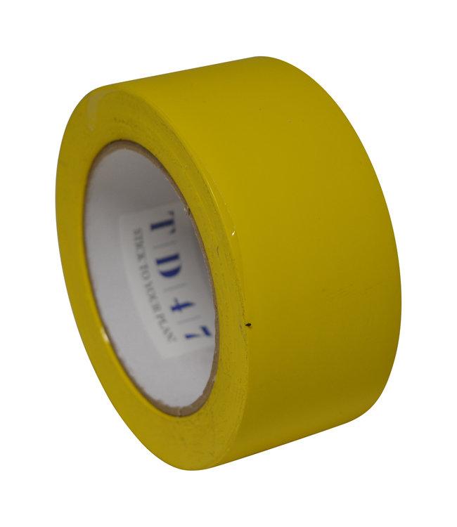 TD47 Safety Markeringstape 50mm x 33m Geel