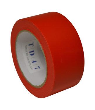 TD47 Products TD47 Sicherheitskennzeichnung Band 50mm x 33m rot