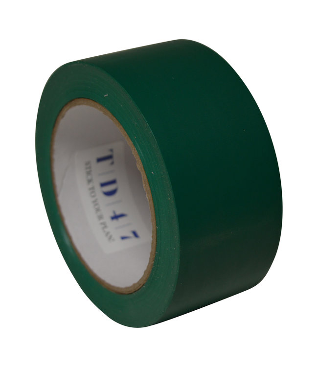 TD47 Products TD47 Sicherheitskennzeichnung grün Band 50mm x 33m