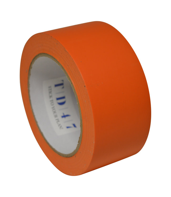 TD47 Safety Markeringstape 50mm x 33m Oranje