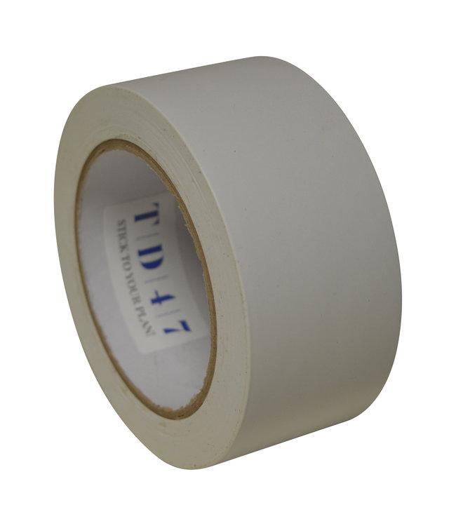 TD47 Safety Markeringstape 50mm x 33m Wit