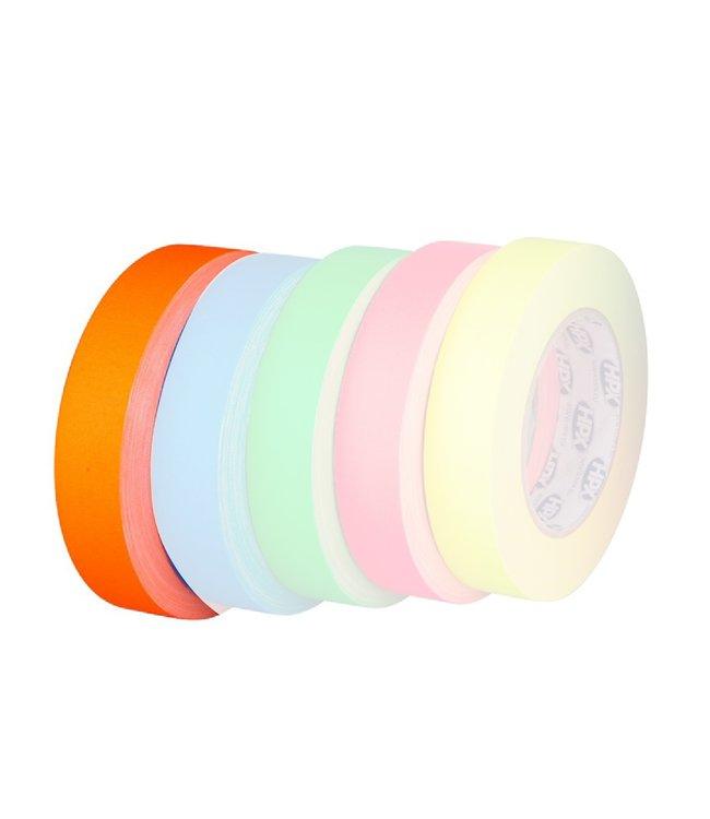 HPX Gaffer Tape Pro 25mm x 25m Fluor Oranje