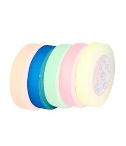 HPX HPX Gaffer Tape Pro 25mm x 25m Fluor Blauw