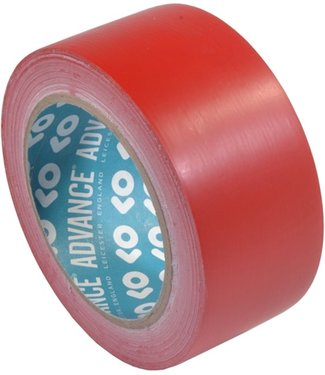 Advance Advance AT8 PVC Markering tape 50mm x 33m Rood
