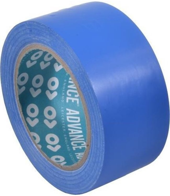 Voraus AT8 PVC Markierungsband 50mm x 33m blau