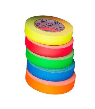 HPX HPX Gaffer Tape Pro 25mm x 25m Fluor Kleurenmix
