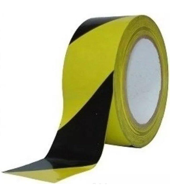 TD47 Products TD47 Absperrband gelb / schwarz 70mm x 500m
