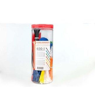 TD47 Products TD47 Kabelbinders in voordeelbox 650 stuks