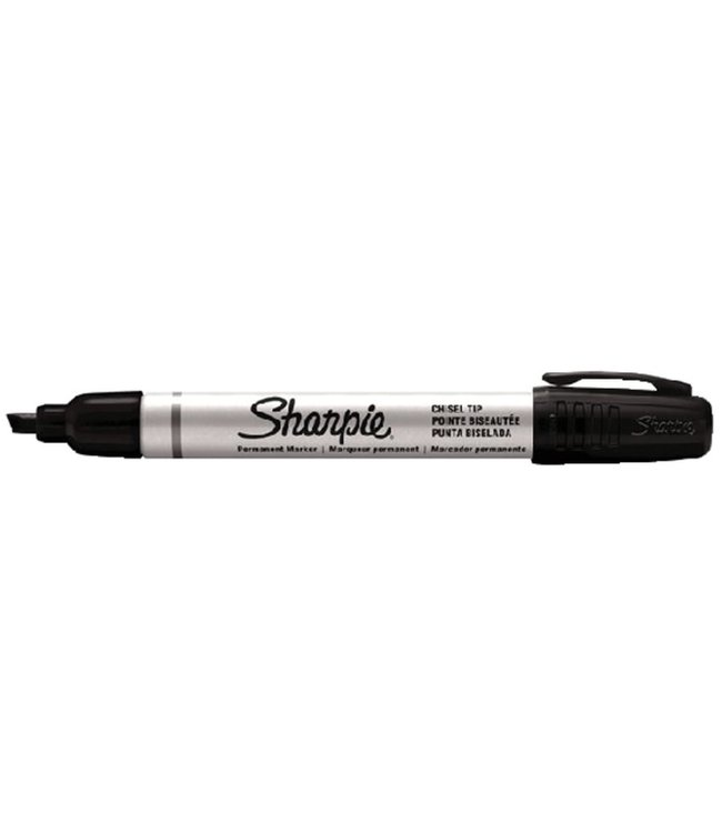 Sharpie Pro Italic 1-4mm Black Metal