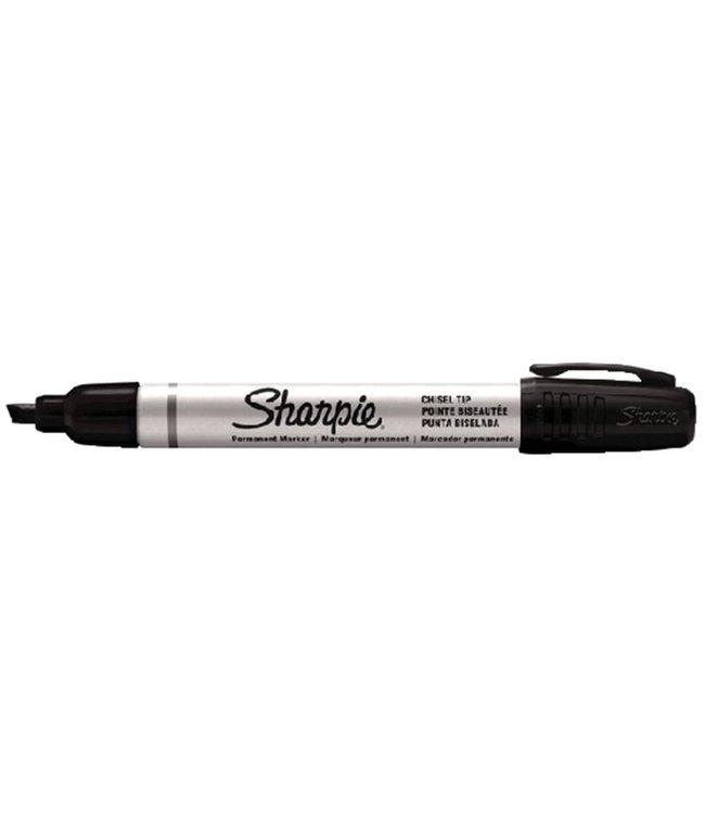 Sharpie Sharpie Pro Italic 1-4mm Black Metal