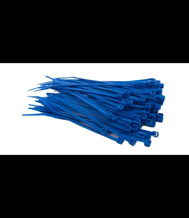 TD47 Kabelbinders 2.5 x 100 mm Blauw