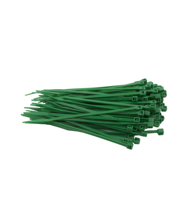 TD47 Kabelbinders 2.5 x 100 mm Groen