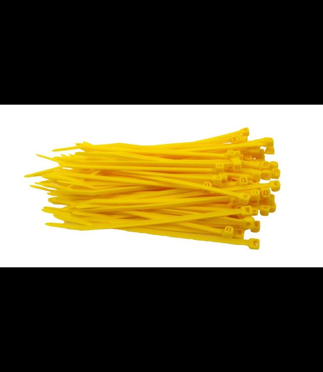 TD47 Kabelbinders 2.5 x 100 mm Geel