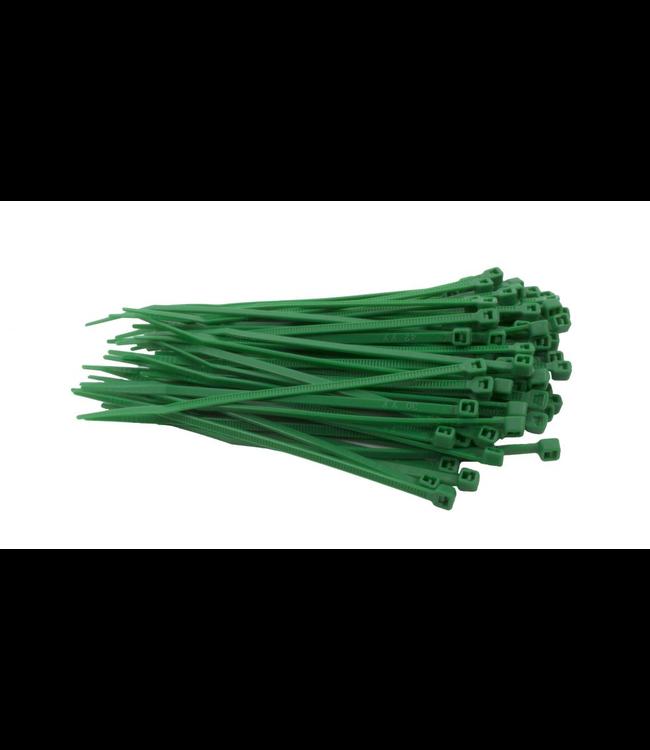 TD47 Kabelbinders 2.5 x 200 mm Groen