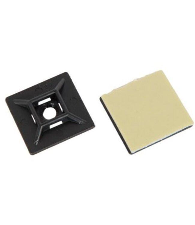 TD47 Stick Sattel 40 x 40 mm Schwarz