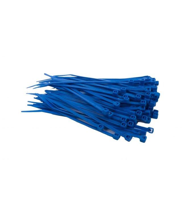 TD47 Kabelbinders 3.6 x 140 mm Blauw