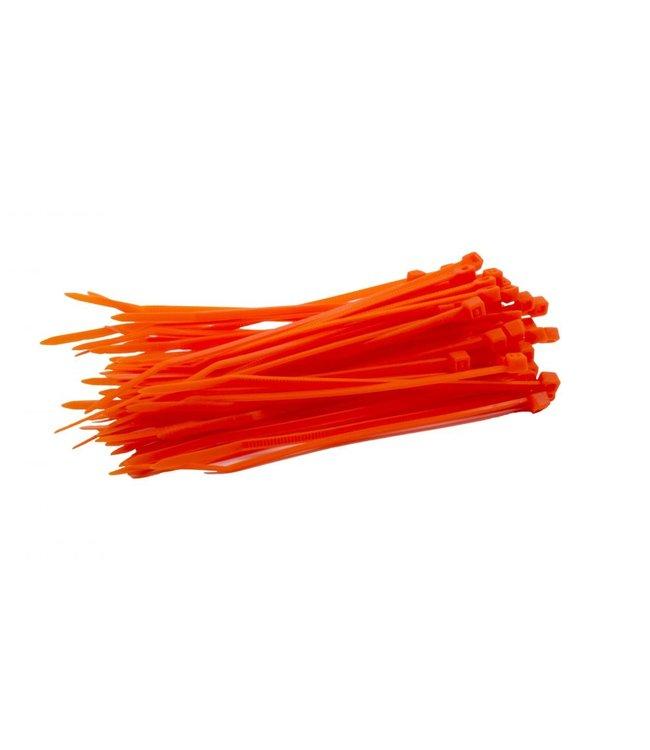 TD47 Kabelbinder 3,6 x 140 mm orange