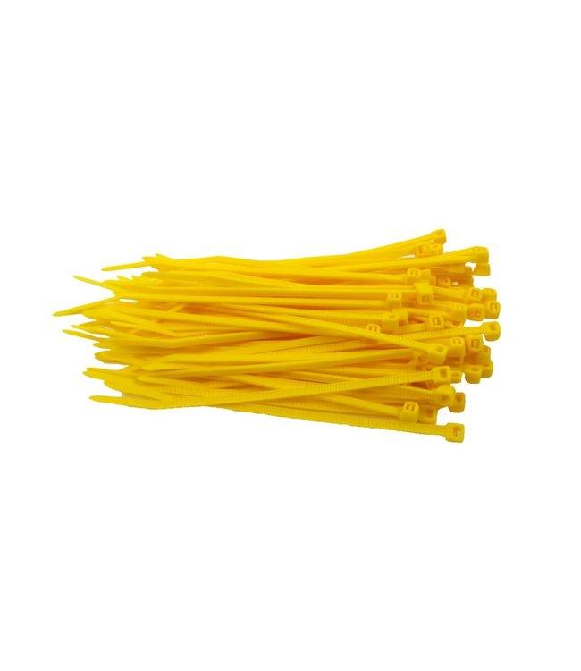 TD47 Kabelbinders 3.6 x 140 mm Geel