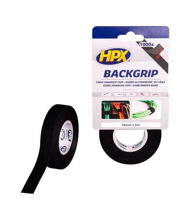HPX Backgrip Kabelbinderband 16mm x 5m
