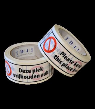 "TD47 Products Die Entfernung TD47 Band ""Free Love"" 50mm x 66m"