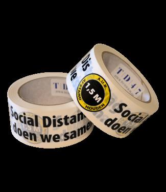"TD47 Products Die Entfernung TD47 Tape ""Together"" 50mm x 66m"