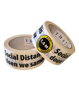 "TD47 Products TD47 Distance Ruban ""ensemble"" 50mm x 66m"