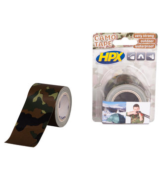 HPX HPX Camouflage Tape 48mm x 5m