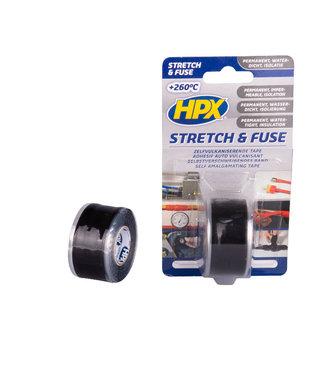 HPX HPX Stretch & Fuse 25mm x 3m Zwart