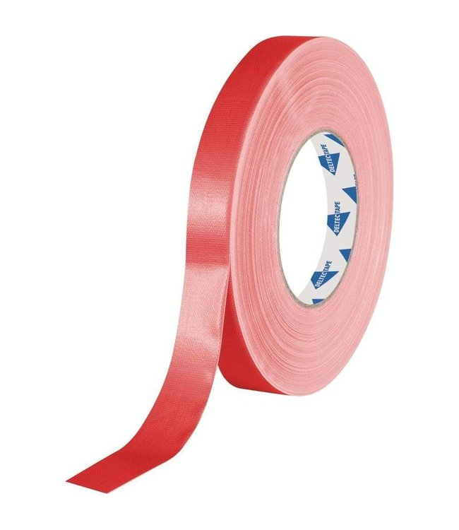 Deltec Gaffa Tape 19mm x 50m Red Pro