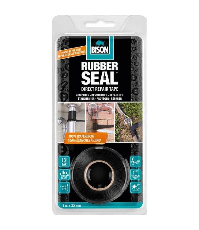 Bison Rubber Seal Direct Repair Tape 25mm x 3m