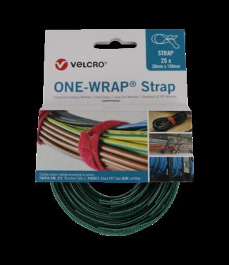Velcro Velcro® ONE-WRAP® klittenband kabelbinder 20mm x 330mm Groen