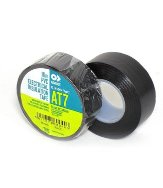 Advance Advance AT7 PVC tape 19mm x 10m Zwart